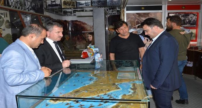 Çanakkale Destanları Müzesi Gezici Tırı'na Yoğun İlgi