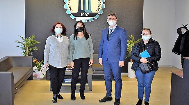 Çanakkale İŞKUR'dan Organize Sanayi Bölgesine Ziyaret