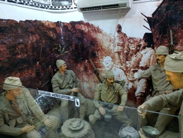 Çanakkale Savaşı Gezici Müzesi Buldan'da