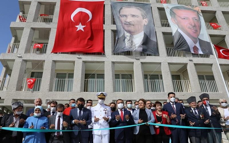 Çanakkale Şehit Yakınları ve Gazi Evi'nin Açılış Töreni Gerçekleştirildi