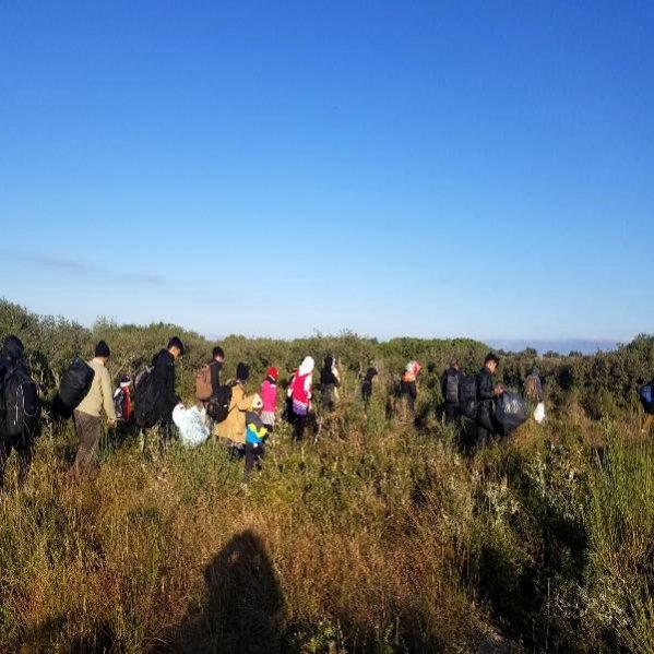 Çanakkale'de 302 Kaçak Göçmen Yakalandı, 2 Organizatör Tutuklandı