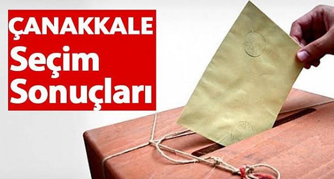 Çanakkale'de CHP 11, AK Parti 10, İyi Parti 2 Başkanlık Kazandı