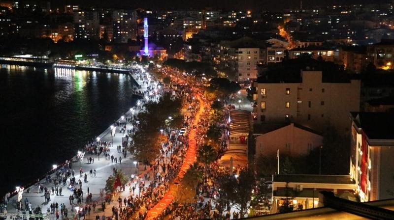 Çanakkale'de Cumhuriyet Coşkusu