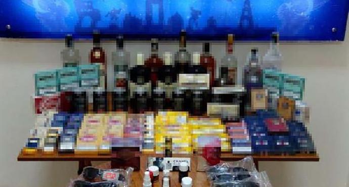 Çanakkale'de iş yerlerine kaçak ürün baskını