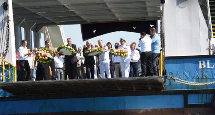 Çanakkale'de Kabotaj Bayramı kutlandı