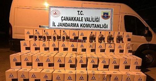 Çanakkale'de Sahte İçki Operasyonu: 2 Gözaltı