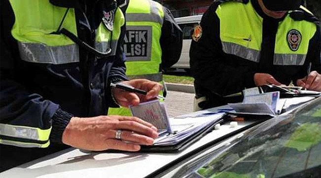 Çanakkale'de Sürücülere Ceza Yağdı