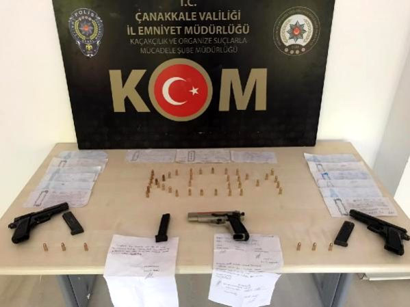 Çanakkale'de Tefeci Operasyonuna 1 Tutuklama