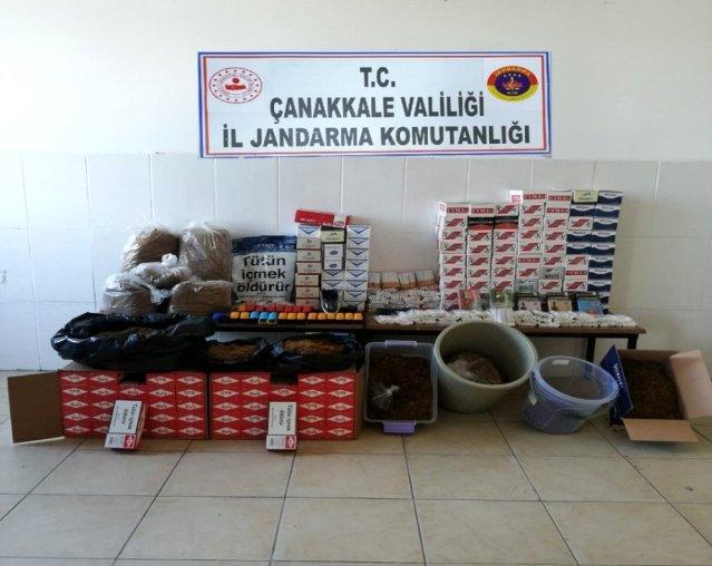 Çanakkale'de Tütün Operasyonu
