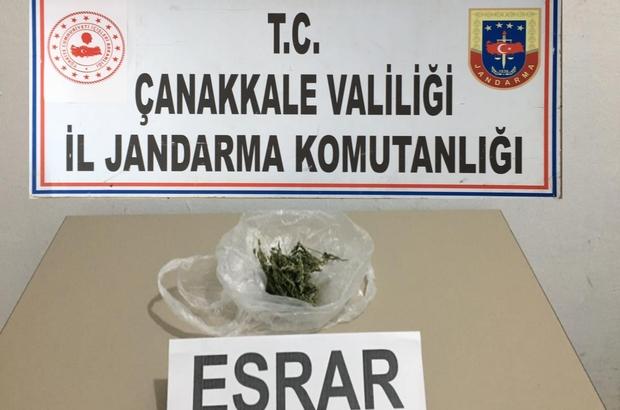 Çanakkale'de Uyuşturucuya 1 Tutuklama