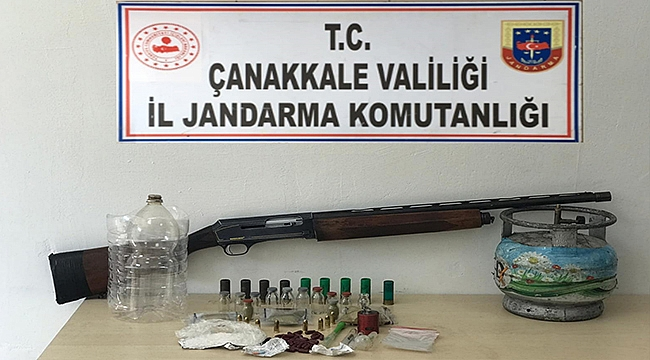 Çanakkale'de Uyuşturucu Operasyonuna 4 Gözaltı