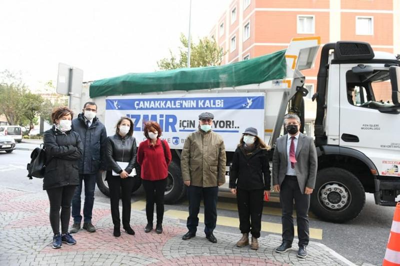 'Çanakkale'nin Kalbi İzmir İçin Atıyor'