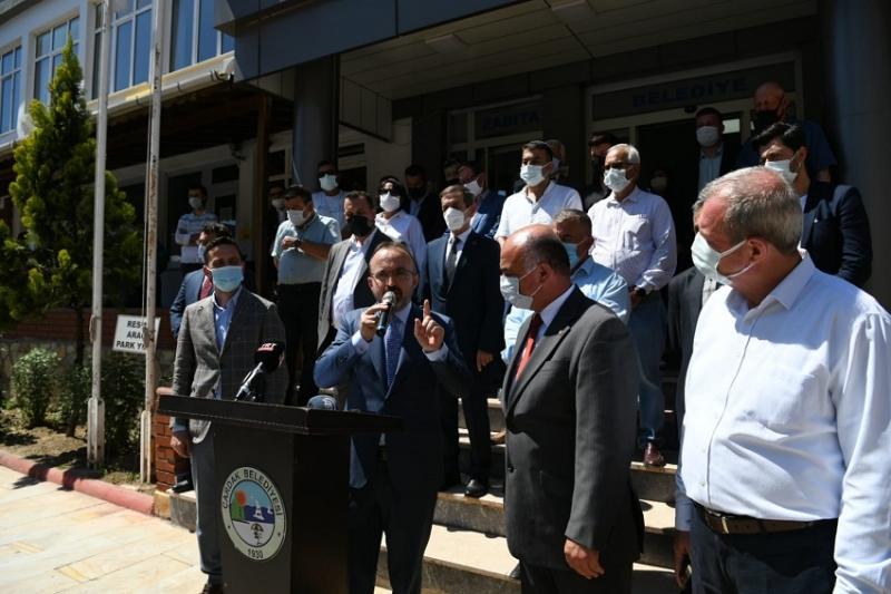 ÇARDAK'A KAPALI SPOR SALONU VE KONFERANS SALONU MÜJDESİ