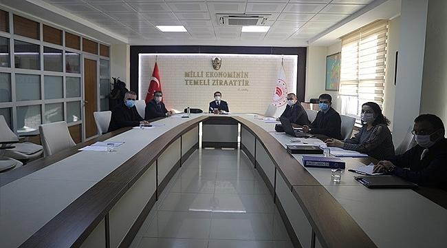 Çeltik Komisyonu Toplantısı Vali İlhami Aktaş'ın Katılımıyla Gerçekleştirildi