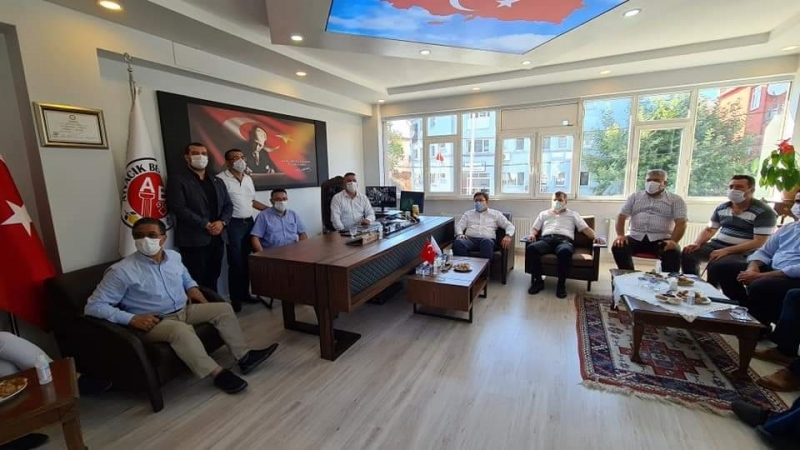 CHP Heyetinden Ayvacık Belediyesi'ne Ziyaret