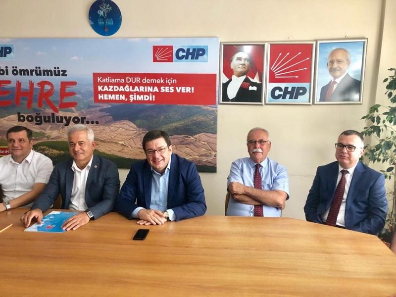 CHP il Başkanı İsmet Güneşhan'dan Basın Açıklaması
