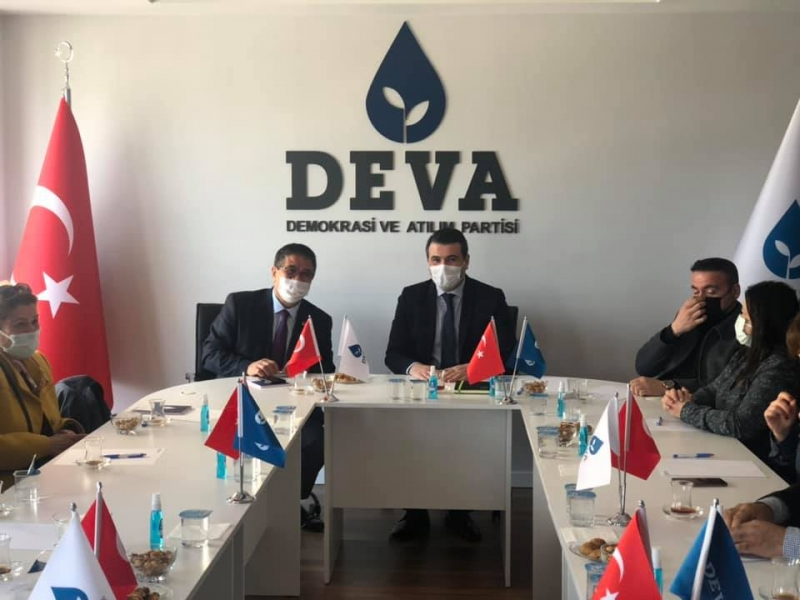 CHP'den DEVA'ya Ziyaret