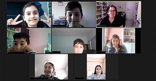 'Çocuklar İçin Çevrimiçi Felsefe Atölyesi' Tamamlandı