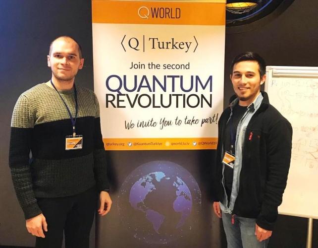 ÇOMÜ'lü Öğrenciler Kuantum Turkey Yarışmasından Birincilikle Döndüler