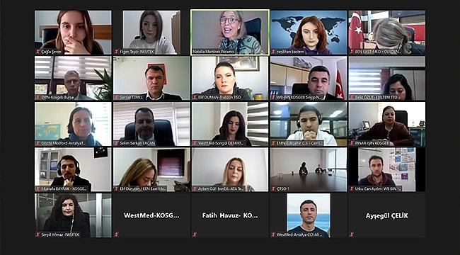 ÇTSO 'TURKISH EEN NETWORK ANNUAL MEETING 2020' Ulusal Toplantısına Katıldı