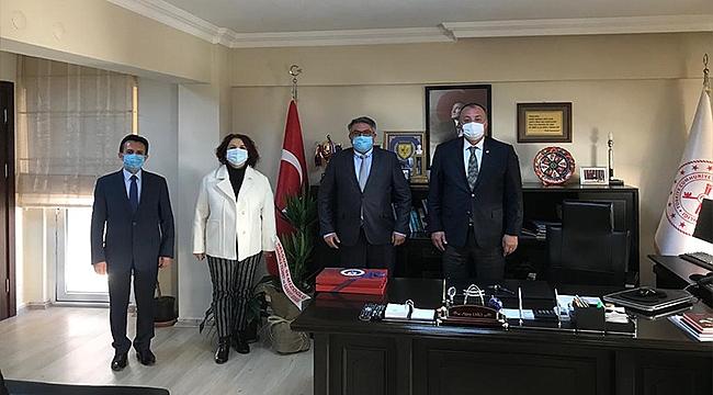 ÇTSO Yönetim Kurulu Başkanından İl Defterdarlığına Vergi Haftası Ziyareti