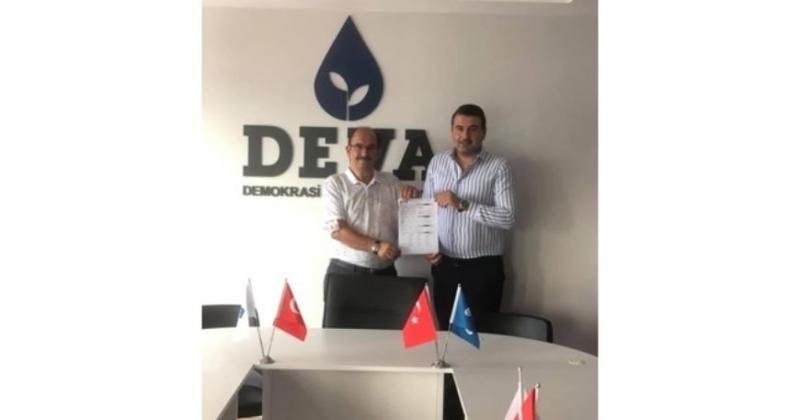 Davut Gazi Benli Deva Partisi'ne  katıldı