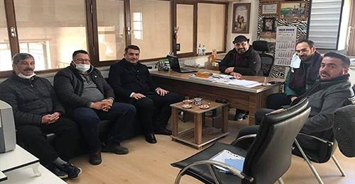 Deva Partisi İl Yönetimi Küçük Sanayi Esnafını Ziyaret Etti