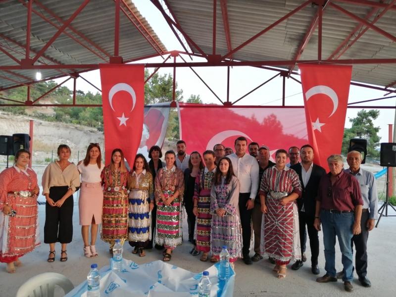 Deva Partisi Kayadere Köyü'nde iftara katıldı