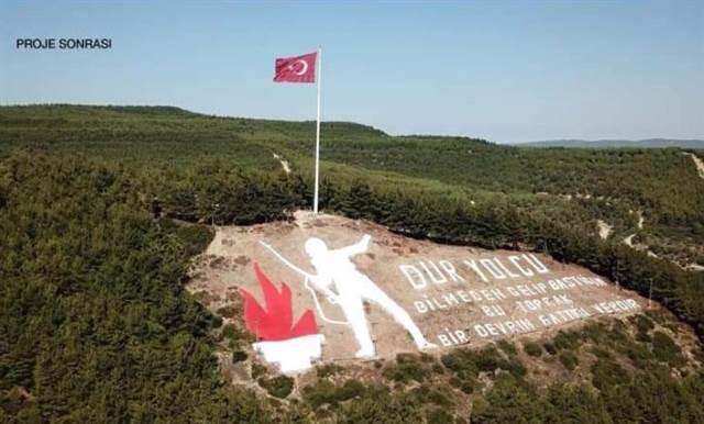 'Dur Yolcu' Anıtı, Yenilendi