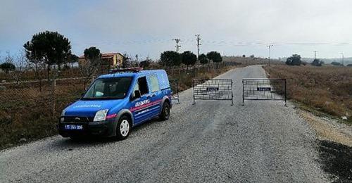 Ezine'de 1 Köy Karantinaya Alındı