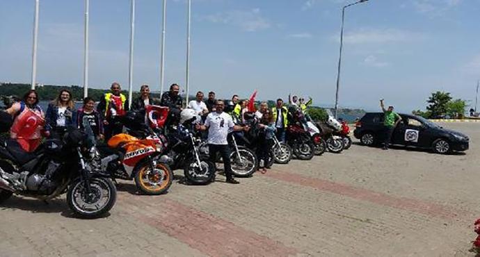 Gelibolu'da '1915 Motosiklet Derneği' kuruldu