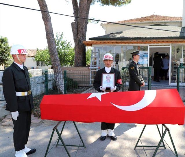 Gelibolulu Kıbrıs Gazisi Son Yolculuğuna Uğurlandı