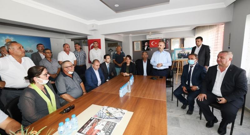 Geyikli CHP'den AK Parti Saflarına Geçişler Devam Ediyor