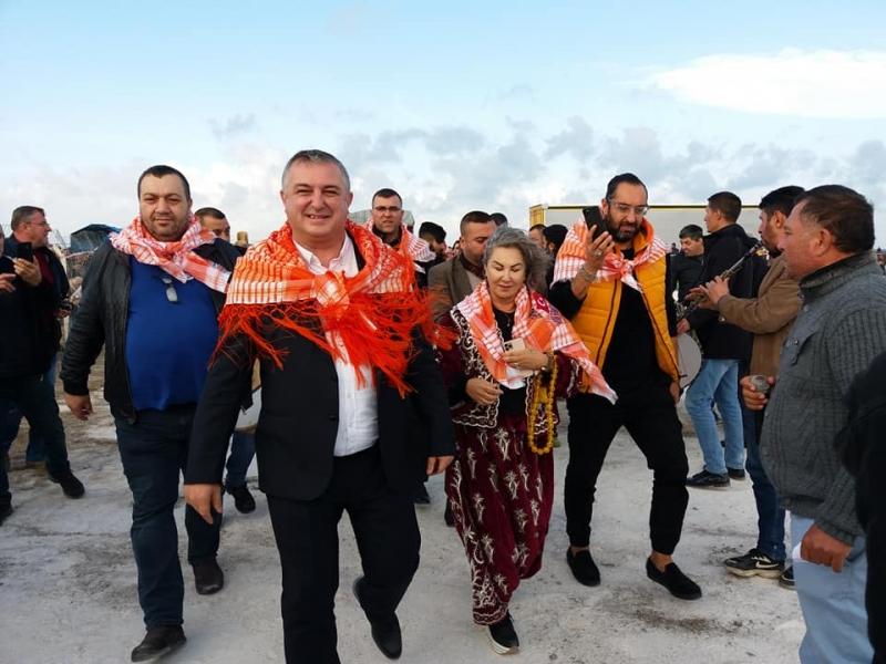 Geyikli'de Deve Güreşi Festivali İlgi Gördü