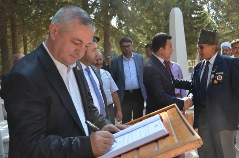 Geyikli'de Gaziler Günü Kutlandı