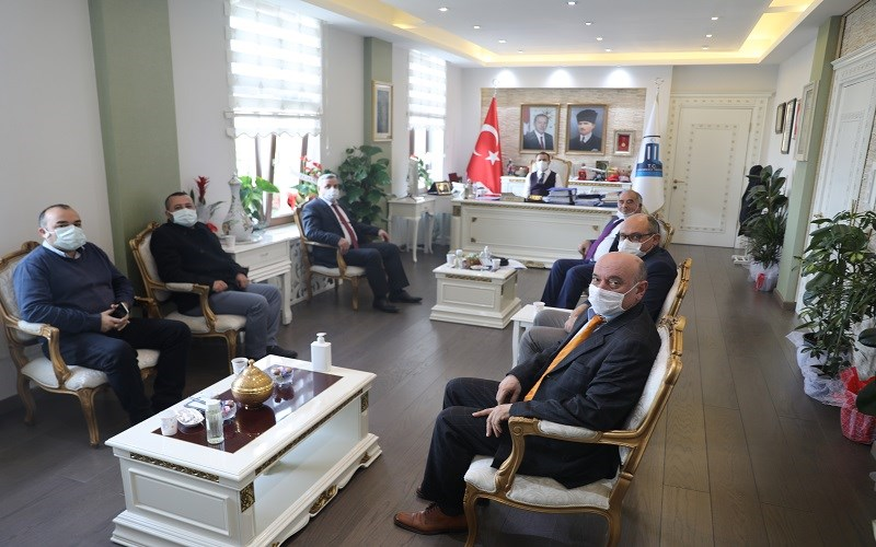 Gökçeada Kent Konseyi'nden Vali İlhami AKTAŞ'a Ziyaret