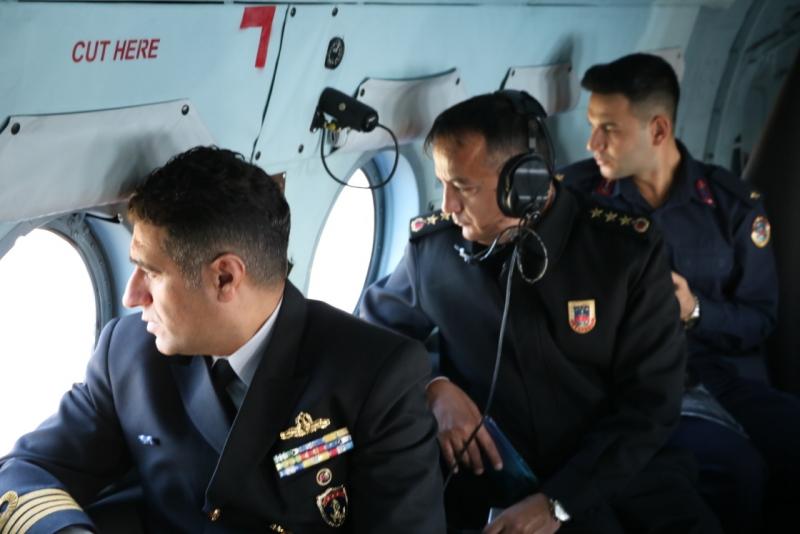 Havadan Helikopter ile Trafik Denetimi