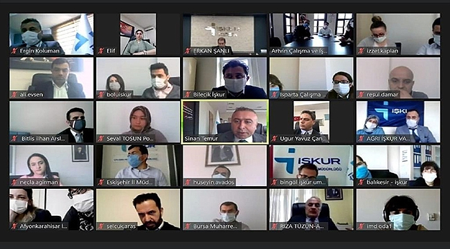 İŞKUR İl Müdürü, İK 17 Platformunun Uygulama Örneklerini Anlattı