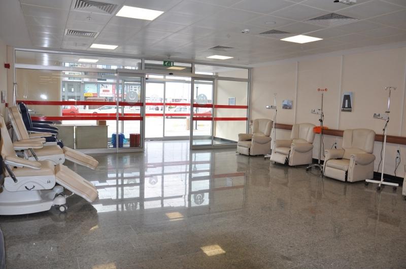Kemoterapi Ünitesi Koltuk Kapasitesi Arttırıldı