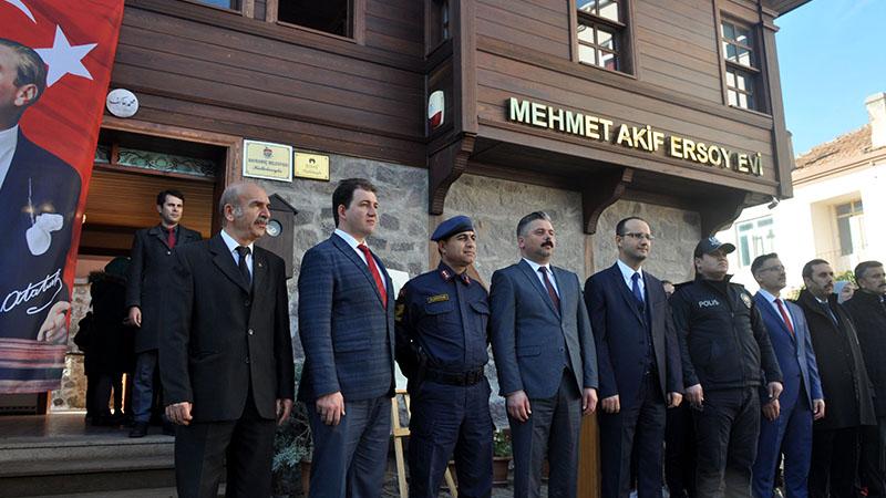 Mehmet Akif Ersoy, Çocukluğunun Geçtiği Müze Evde Anıldı
