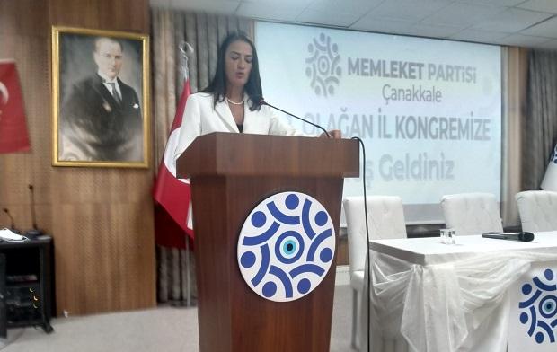 Memleket Partisi Çanakkale'de ilk kongresini gerçekleştirdi