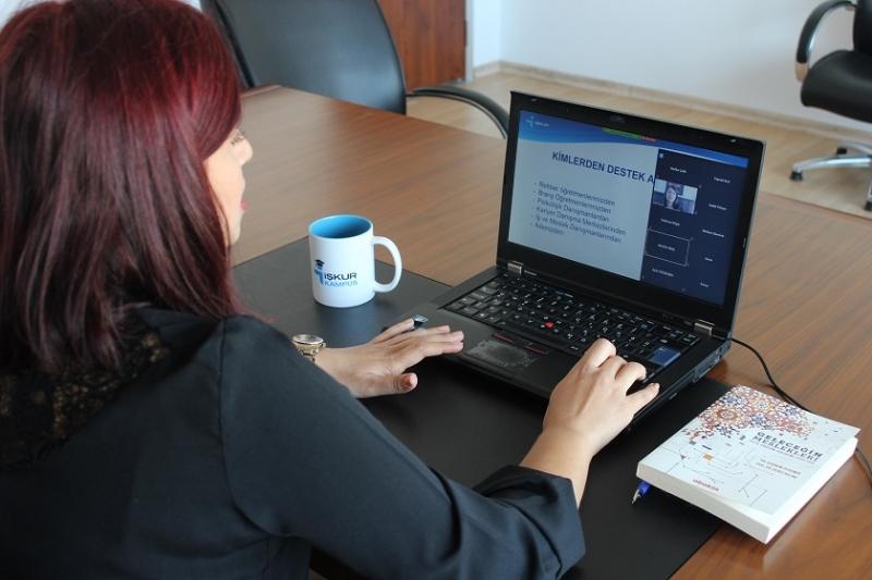 Meslek Seçimi Aşamasında Olan Liselilere, İŞKUR'dan Online Seminer