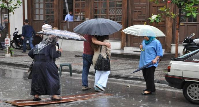 Meteorolojiden 6 İl İçin Kuvvetli Yağış Uyarısı