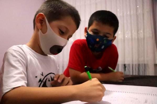 Okulun İlk Gününde Ağlarken Görüntülenen Emir, Fobisini Yenmeye Çalışıyor
