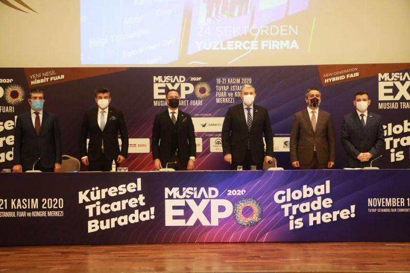 Pandemi Sonrası Yapılan En Büyük Fuar MÜSİAD EXPO 2020 Olacak