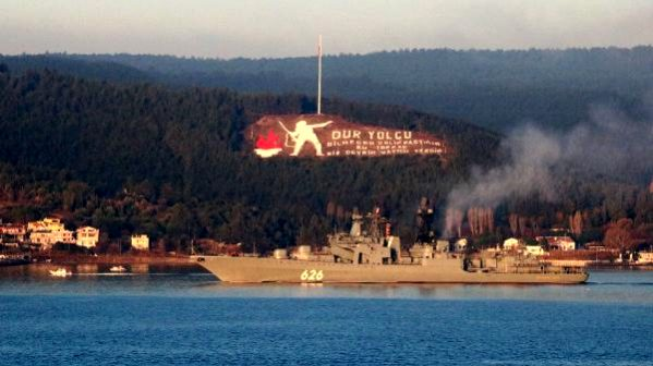 Rus Savaş Gemisi 'Koramiral Kulakov' Akdeniz'e İniyor