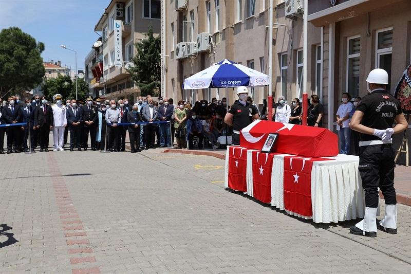 Şehit Cihan Türkmenoğlu'nun Naaşı Törenle Memleketine Uğurlandı