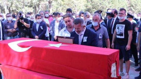 Sel Şehidi Uzman Çavuş, Çanakkale'de Toprağa Verildi