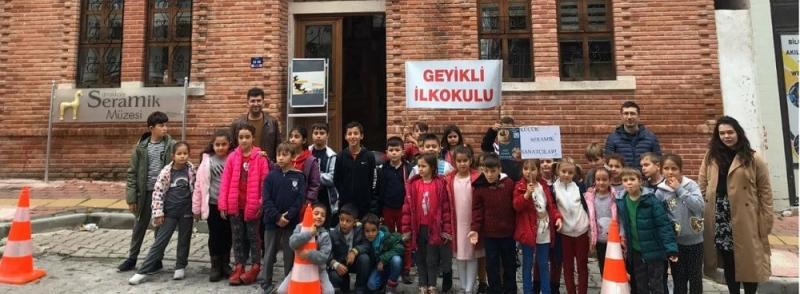 Seramik Müzesi Minik Öğrencileri Ağırladı