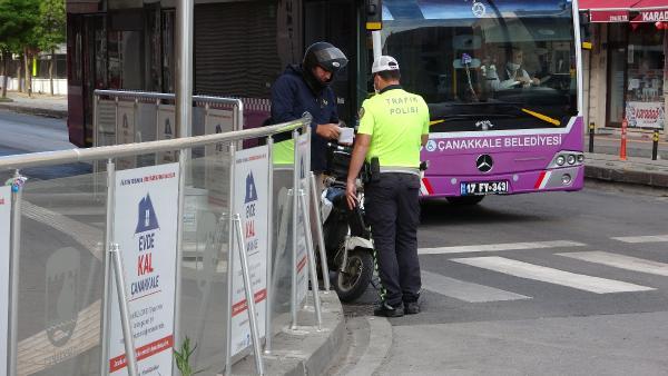 Sokağa Çıkma Kısıtlamasıyla Birlikte Polis Denetimlere Başladı